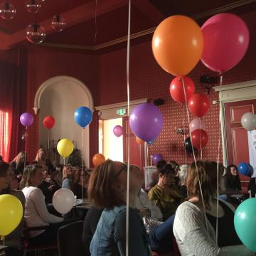 Complimenten en ballonnen